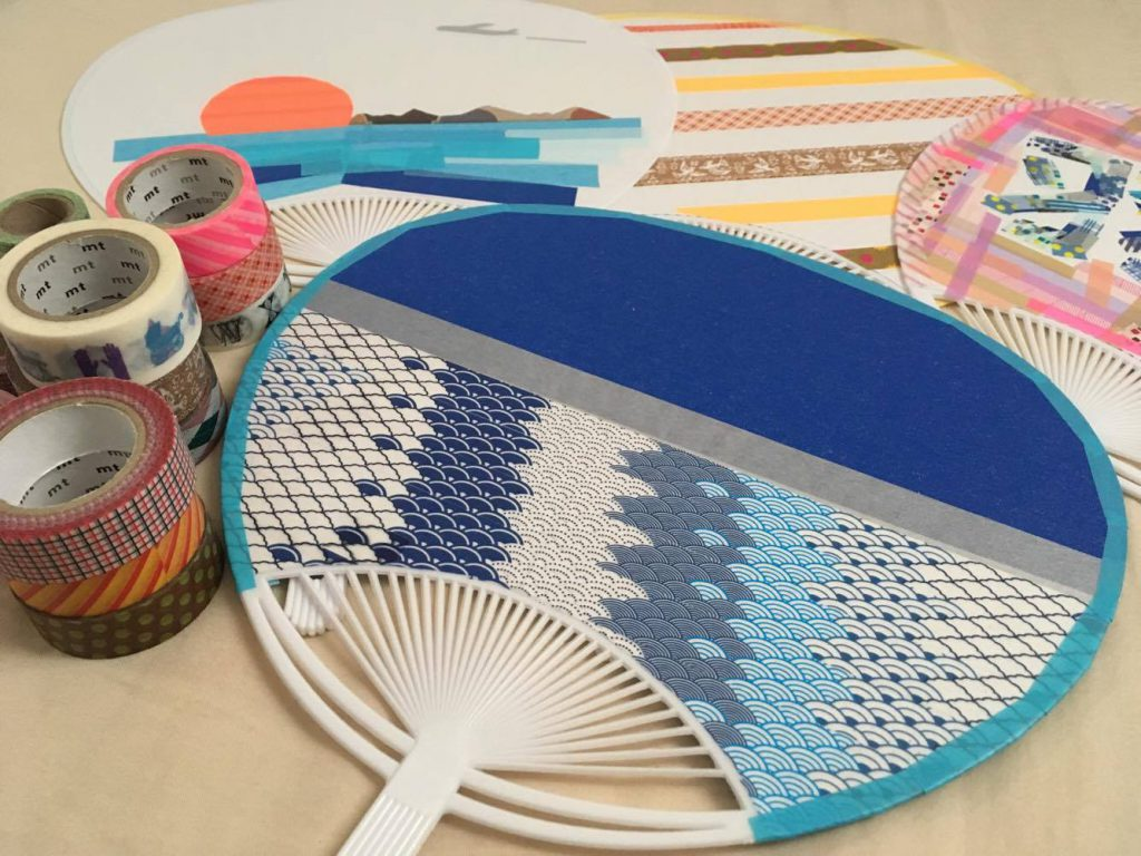Learn a fun way to make a beautiful Japanese fan for your souvenir and experience Japanese culture through a Japanese tea ceremony